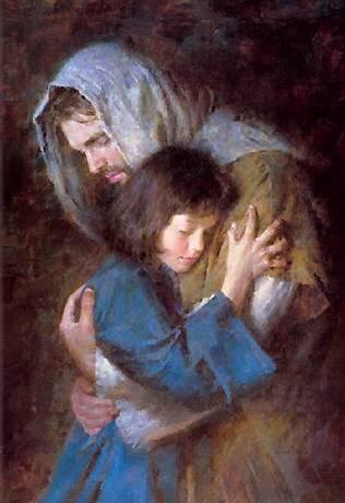 EXHORTACIÓN APOSTÓLICA POSTSINODAL VERBUM DOMINI / Los secretos del Vaticano Cristo-y-una-nina
